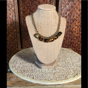 every day 10 1/2 inch tortoise shell necklace